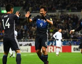 Thắng đậm Thái Lan, Nhật Bản sắp đoạt vé dự World Cup 2018