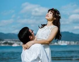 Cặp đôi chụp ảnh cưới ở Nhật Bản sau 9 năm bên nhau