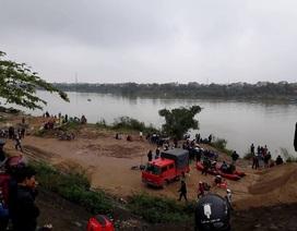 Tìm kiếm một giáo viên nghi mất tích dưới sông Thạch Hãn