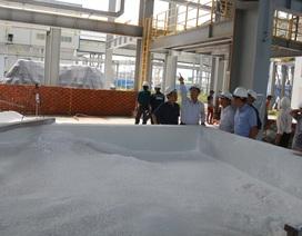 Đoàn công tác Bộ Công Thương kiểm tra sự cố phát tán bụi alumin