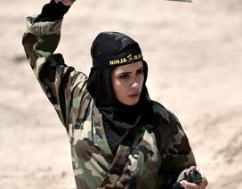 """4.000 """"bóng hồng"""" Iran khổ luyện thành chiến binh ninja"""
