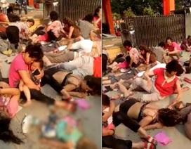 Nổ lớn ở nhà trẻ Trung Quốc, 7 người chết, 59 người bị thương