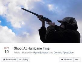 Hàng chục nghìn người Mỹ đòi nổ súng đuổi siêu bão Irma