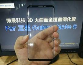 Rò rỉ video màn hình vô cực của Galaxy Note 8 trong nhà máy