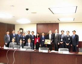 Chủ tịch HĐTV EVNNPT làm việc với Công ty Điện lực Tokyo - Nhật Bản