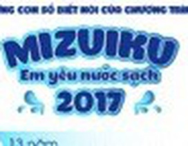 'Mizuiku - Em yêu nước sạch' năm 2017 và những con số biết nói