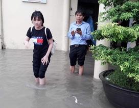 Bệnh viện ở Huế ngập nặng vì mưa lớn