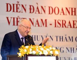"""Tổng thống Israel tâm đắc câu tục ngữ """"Đi một ngày đàng..."""""""