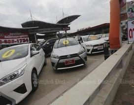 Ô tô mới tăng giá - Cơ hội cho thị trường xe cũ Thái Lan