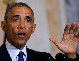 Ông Obama trở lại chính trường sau thời gian im ắng