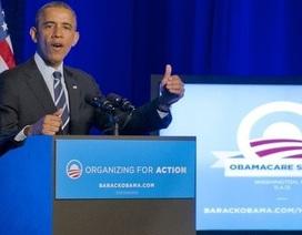 """Di sản của ông Obama tiếp tục thoát """"án tử"""" ở quốc hội Mỹ"""