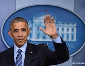 """Tổng thống Obama họp báo lần cuối: """"Chúng ta rồi sẽ ổn"""""""