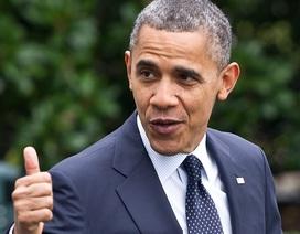 Tổng thống Obama được tín nhiệm cao nhất kể từ khi nhậm chức