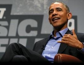 Rộ tin ông Obama có thể làm chủ tịch tiếp theo của Đại học Harvard