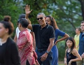 Người Indonesia nồng nhiệt chào đón cựu Tổng thống Obama