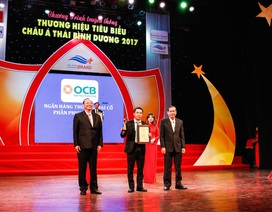 """Vinh danh Top 10 """"Thương hiệu tiêu biểu Châu Á – Thái Bình Dương năm 2017"""""""