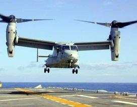 """Nhật, Mỹ lần đầu sử dụng máy bay """"chim ưng biển"""" Osprey trong tập trận chung"""