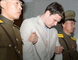 """Sinh viên Mỹ được Triều Tiên phóng thích """"đang trong tình trạng hôn mê"""""""
