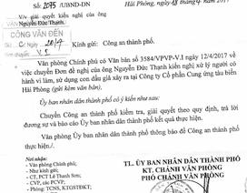 UBND TP Hải Phòng chỉ đạo kiểm tra, giải quyết vụ làm, sử dụng con dấu giả
