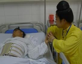 Thiếu hơn 40 triệu đồng, chàng trai trẻ ngã từ độ cao 4m có nguy cơ liệt vĩnh viễn