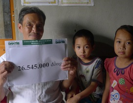 Hơn 26 triệu đồng tiếp tục đến với hai chị em có mẹ mất vì ung thư, bố tâm thần