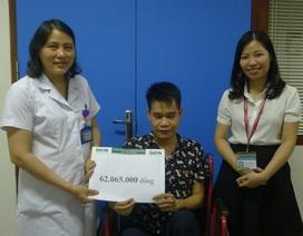 Hơn 62 triệu đồng đến với mẹ con bác Phạm Thị Hội