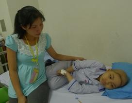 Thương bé 9 tuổi nguy kịch vì bệnh ung thư máu