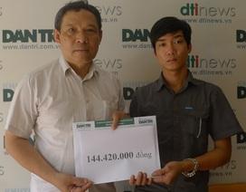 Hơn 144 triệu đồng đến với gia đình nạn nhân vụ nổ ở Văn Phú, Hà Đông