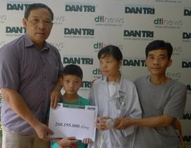 Hơn 260 triệu đồng đến với chị Nguyễn Thị Thu