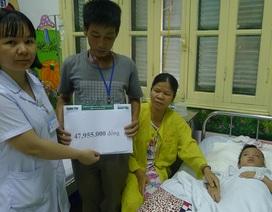 Gần 48 triệu đồng tiếp tục đến với bé Cao Ngọc Hoàn