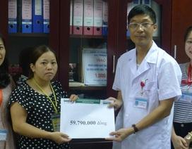 Gần 60 triệu đồng đến với thầy giáo Hoàng Văn Hải