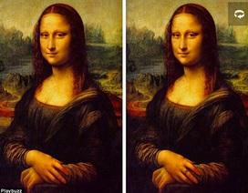 Đố bạn phát hiện sự khác nhau giữa hai bức tranh