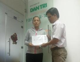 Hơn 57 triệu đồng đến với gia đình bé Anh Hào
