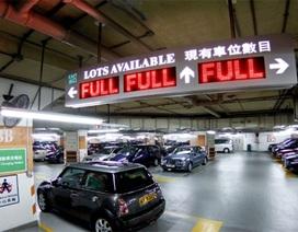 Hong Kong: 15 tỷ đồng mua một chỗ đỗ xe