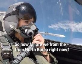 Phóng viên kể chuyện trên máy bay chiến đấu của Mỹ áp sát Triều Tiên