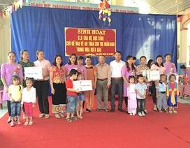 Nghệ An: Hiệu quả câu lạc bộ Hội Cha mẹ học sinh ở bậc học mầm non