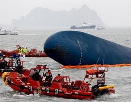 Hiện tượng kỳ lạ khi Hàn Quốc trục vớt phà Sewol