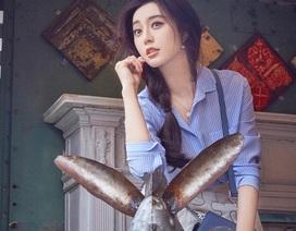 Phạm Băng Băng đẹp xinh với phong cách thời trang phóng khoáng