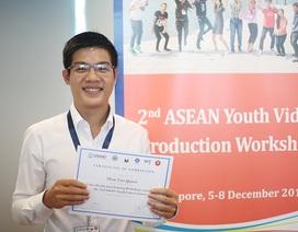 Nam sinh Việt đoạt giải Nhất cuộc thi làm phim trẻ ASEAN