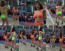 Vũ công mặc sexy, nhảy phản cảm: Phạt công viên nước Đầm Sen 45 triệu đồng