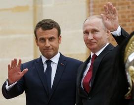 Tổng thống Nga - Pháp lần đầu gặp mặt