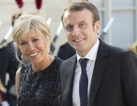"""Phu nhân Tổng thống Pháp sắp được """"danh chính ngôn thuận"""""""