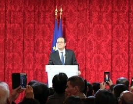 Tổng thống Pháp Francois Hollande chúc Tết châu Á