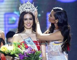 Nhan sắc quyến rũ của tân hoa hậu thế giới Philippines