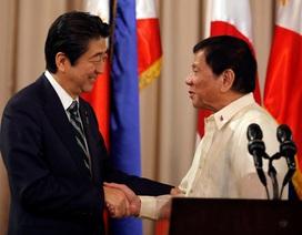 Lãnh đạo Nhật Bản, Philippines đồng lòng về vấn đề Biển Đông
