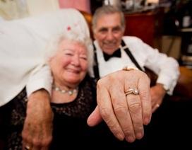 Phải lòng nhau ở tuổi gần 90, cụ ông cụ bà nên duyên chồng vợ
