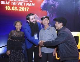 Đạo diễn phim Kong gặp lại những người dân Ninh Bình đóng vai thổ dân