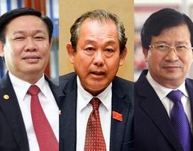 Các Phó Thủ tướng sẽ lần lượt đăng đàn trả lời chất vấn