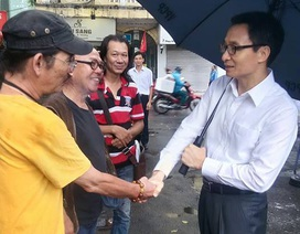 Phó Thủ tướng Vũ Đức Đam thị sát Hãng phim truyện Việt Nam