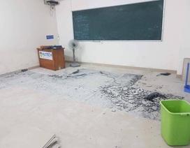 ĐH Hutech: Phó Hiệu trưởng khẳng định không có chuyện tòa nhà bị rung lắc